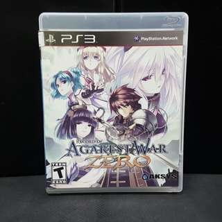 PS3 Agarest War Zero (Used Game)