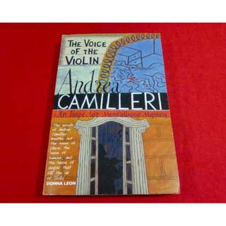The Voice In The Violin by Andrea Camilleri