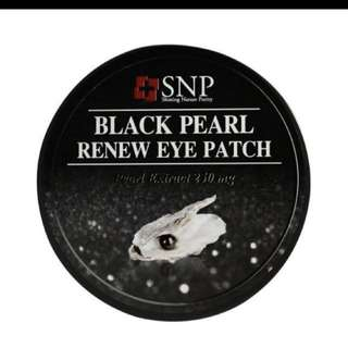 SNP Black Pearl Renew Eye Patch
