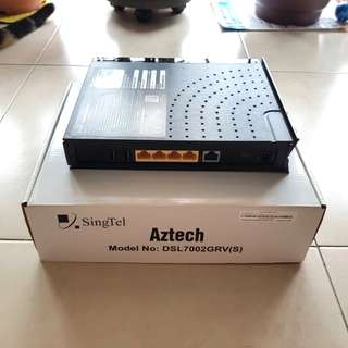 Aztech DSL7002GRV Dual Band Wireless Router