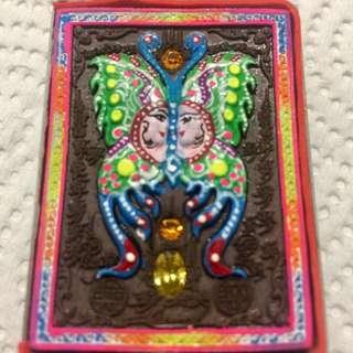 RARE! Kruba Krissana Lekin Lechai Butterfly Salika 2557 Money Infinity