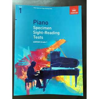 Piano Specimen Sight-reading Tests (grade 1)