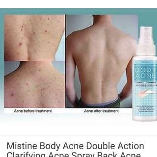 Body acne control spray from. Thai