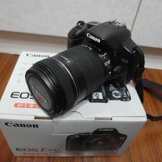 【出售】Canon 450D 數位單眼相機 盒裝完整 9成新