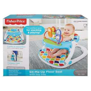 Fisher Price sit me up with toy tray