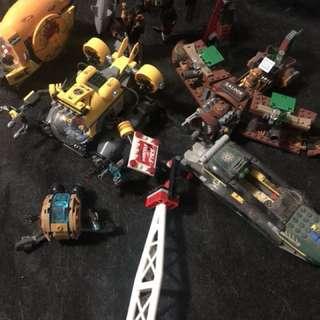 Lego Movie DC Marvel ship 二手 已砌