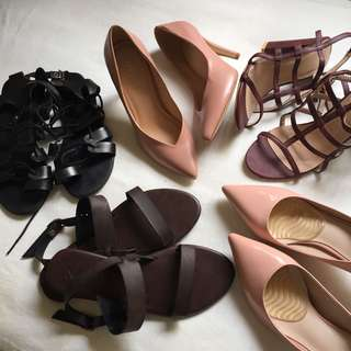 CLEARANCE - PRELOVED / BN SHOES
