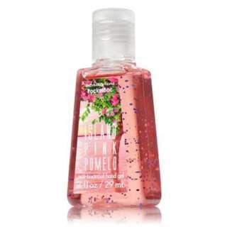 BATH & BODY WORKS POCKET BAC Island Pink Pomelo Anti Bacterial Hand Gel
