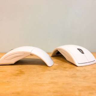 [Special Discount] Wireless USB White Mouse (For 2)