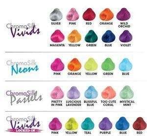 BN Pravana chromasilk vivids Colorful Hair
