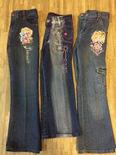 Girl's Jeans (set of 3)