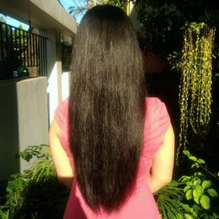 Straight, Brown, Virgin, Uncut, 13-Inch Human Hair