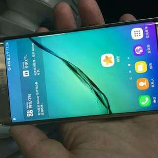Samsung Galaxy S7edge 4G 32GB gold 韓版 90%new 雙卡
