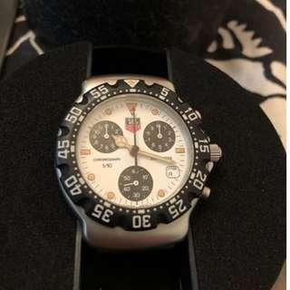 豪華一級方程式石英計時手錶瑞士