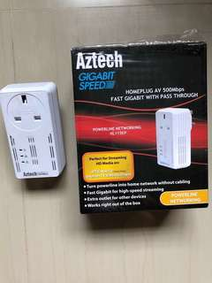 Aztech Homeplug 500 Mbps