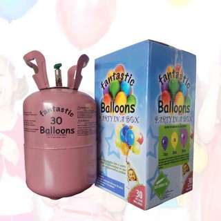 Disposable Helium Tanks