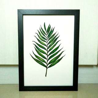 Tropical Leaf #1 (Watercolour Painting)
