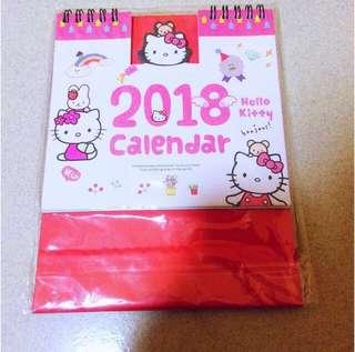 Hello Kitty Calendar 2018