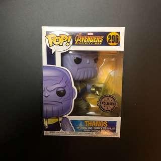(INSTOCK) Avengers Infinity War Thanos Infinity Glow Pop