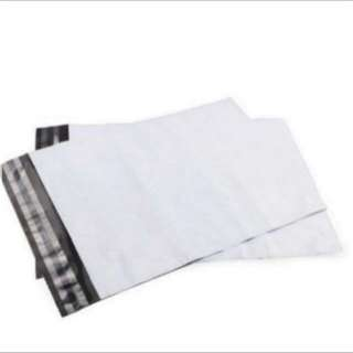 White Polymailers bag