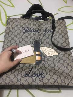 Gucci Blind for Love Supreme Tote