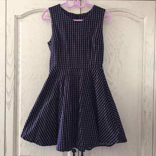 [new] 連身 格仔裙 one-piece checkered dress
