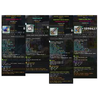 Maplestory Mage/INT EQ