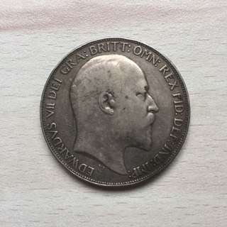Great Britain 1902 silver crown