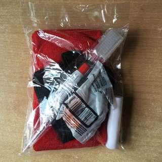 Brand New Swiss Air Amenities Kit Travel Bag