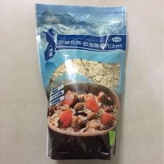 芬蘭有機即溶燕麥片 麥皮 500g 綠盈坊購入