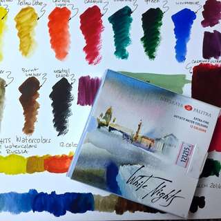 ST PETERSBURG WHITE NIGHTS Extra Fine Artists' Watercolour Pan Set x 12