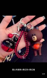 布郎熊🐻鎖匙扣(包郵)