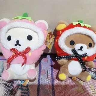 Rilakkuma plush toys