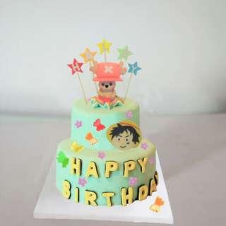 海賊王蛋糕
