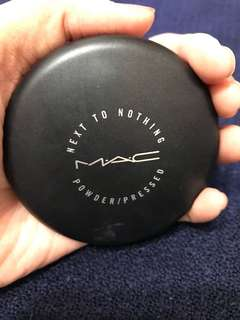 Mac Next to nothing powder