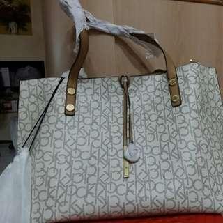 Authentic Calvin Klein reversible Tote Bag