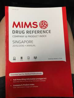 MIMS drug reference company & product index