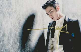 BIGBANG TOP 簽名相