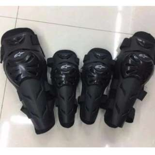 Alpinestar elbow and kneepads