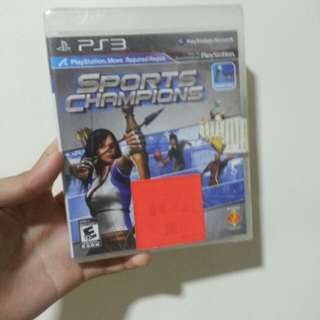 PS3 Game: Sports Champions (Bnew) Requires PSMove