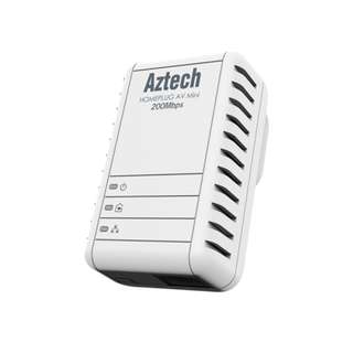 Aztech HL113E HomePlug AV 200Mbps Ethernet Adapter
