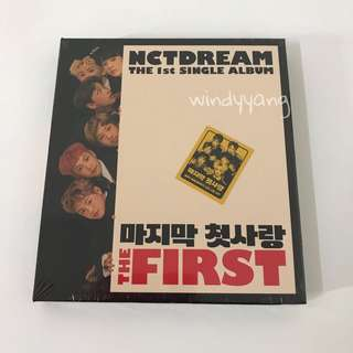 [WTS] NCT DREAM The First SEALED Album