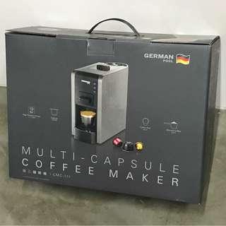 德國寶germen pool 隨芯咖啡機九成九新