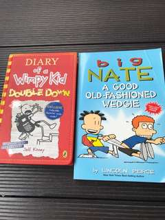 Big Nate & Diary of a Wimpy Kid