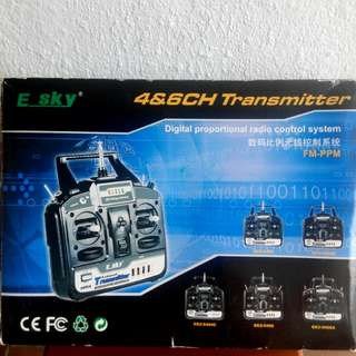 E-Sky 4&6 CH Transmitter