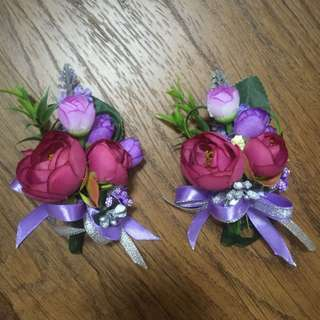 Corsage fake flower for dad