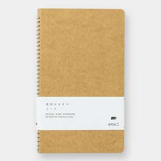 Midori Spiral Ring Notebook A5 Slim Polar Bear