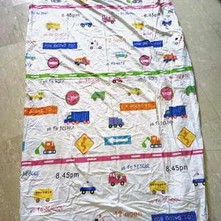 Aussino Kids 100% Cotton Single Bedsheet