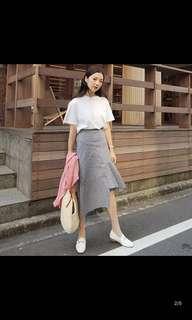 Korean New Fashion Dress Skirt Small Fragrance Two-piece Skirt Plaid Dress