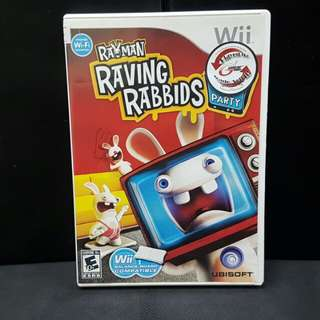 Wii Rayman Raving Rabbids TV Party (Used Game)